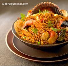 Arroz con mariscos – 4 Porciones   Comida Peruana