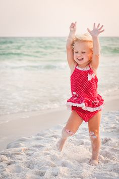 beach days. Have you ever seen many people depressed at a beach? Children can teach us how to enjoy the simple pleasures in life.