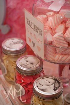 "Photo 6 of 24: Pink & Grey Elephants / Birthday """"Pink & Grey Elephant Party""""   Catch My Party"