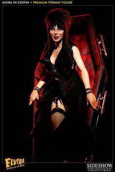 Elvira - In Coffin Premium Format Figure (Pre-Order Now!)