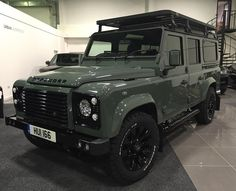 """""""One of today's collections gleaming and ready to go .. #antiurban #defender…"""