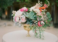 Vibrant Open Air Wedding in Santa Barbara Gallery - Style Me Pretty