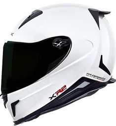 nexx motorcycle helmet [i should get this and fit a gopro on it] Motorcycle Helmet Design, Motorcycle Outfit, Bike Helmets, White Motorcycle Helmet, Yamaha R6, Ducati, Helmet Tattoo, Helmet Armor, Custom Helmets