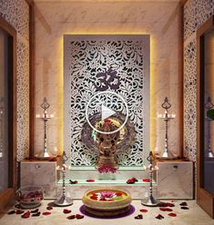 Pooja Units - Home Interior Designers in Banashankari - Home Decors in Bangalore