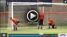 Goal Work - John Murphy - Clemson Univ. [VIDEO] - Coach John Murphy explains and demonstrates Goal Work Drills