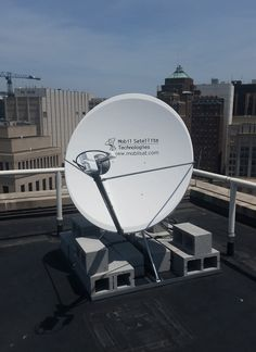 new broadband satellite system installation at the Virginia Department of Health main office in downtown Richmond, VA. http://www.mobilsat.com