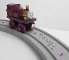 Wooden Railway Accessory 100/% Hardwood Train Track Nostalgic Engine Shed