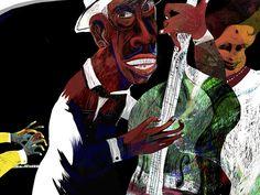 "Hablamos de ""La noche triste de Chano Pozo"", con texto de Leonardo Padura e ilustraciones de Ajubel. http://www.unperiodistaenelbolsillo.com/ajubel-ilustra-la-noche-triste-de-chano-pozo-con-texto-de-leonardo-padura-cuenta-la-historia-de-uno-de-los-musicos-cubanos-mas-trascendentes-del-siglo-xx/"