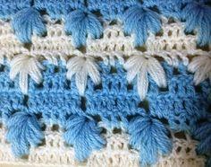 Crochet Point fantaisie tressé très facile / Punto fantasia trenzado tejido a crochet Crochet Motifs, Crochet Stitches, Knit Crochet, Crochet Patterns, Crochet Hats, Lidia Crochet Tricot, Waffle Stitch, Nursing Necklace, Manta Crochet