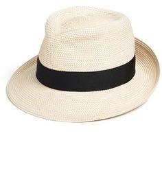 aa7f3ddd8cf Women s Eric Javits  Classic  Squishee Packable Fedora Sun Hat - Ivory  Funky Hats