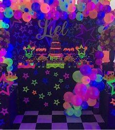Fiesta de adolescentes: neon party