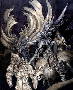 Dark Souls - Bound by the Abyss by SickJoe.deviantart.com on @DeviantArt