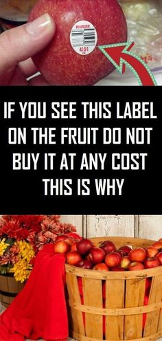 If You See THIS Label On the Fruit Do Not Buy It at Any Cost – This Is WhyMost of us don't know that the stickers attached to the fruits and vegetables are there for more than just scanning the price.The PLU code, or the price lookup number on the sticker Healthy Lifestyle Tips, Healthy Living Tips, Healthy Tips, How To Stay Healthy, Women Lifestyle, Healthy Eating, Healthy Recipes, Healthy Drinks, Healthy Foods