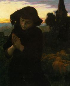 Emile Friant - Angelus. I wish this was a little lighter, but I still quite like it.