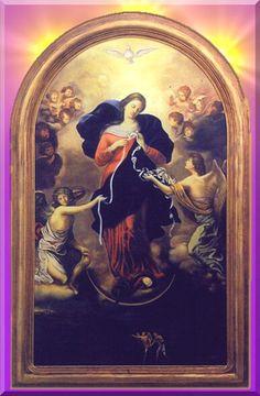 La milagrosa Virgen Desatanudos