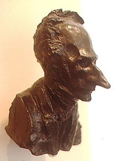 Honore Daumier: Bust of a Legislator, Hirschorn Museum, Washington, D. Honore Daumier, Wood Engraving, Romanticism, Land Art, Beautiful Artwork, Figure Drawing, Caricature, Cartoon Art, Sculpting