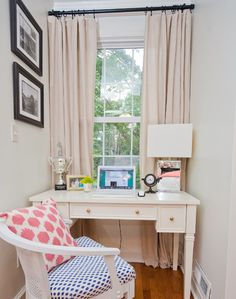 Hollie Hill Home Tour // bedroom styling // window nook // office space styling // photography by Tin Can Photography