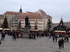 Advent auf dem Neumarkt Dresden 2014
