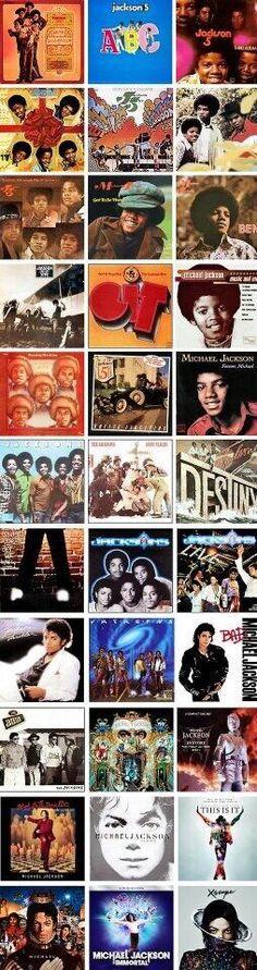 Albums de Michael Jackson