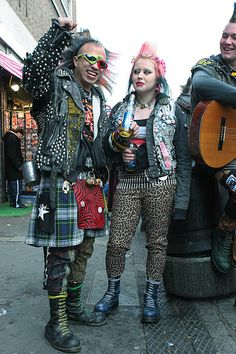 The people of Camden Town....punk, techno, exotic, young, old and many many nationalities...such diversity