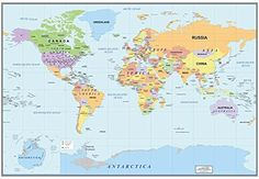 Educational world map wall mural world map wallpaper hd wall26 2016 newest world map large wall mural removable wallpaper home decor gumiabroncs Gallery