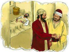 Free Visuals Parable of the Good Samaritan:  Luke 10:25-37