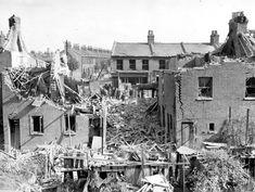 Major Road. Air raid incident. 7 September 1943.