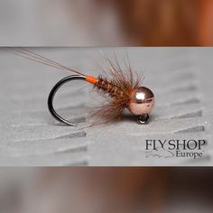 PTN Copper Jig 1 Min Tutorial - A Guide to Fishing for the First Time Fly Tying Vises, Fly Tying Desk, Fly Tying Tools, Fly Tying Materials, Fly Fishing Nymphs, Fly Fishing Gear, Sea Fishing, Fishing Reels, Fishing Lures