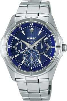 SEIKO ワイアード WIRED NEW STANDARD 腕時計 ソーラーモデル AGAD033 メンズ   商品から探す   ALEXCIOUS Omega Watch, Watches For Men, Solar, Accessories, Men's Watches, Jewelry Accessories