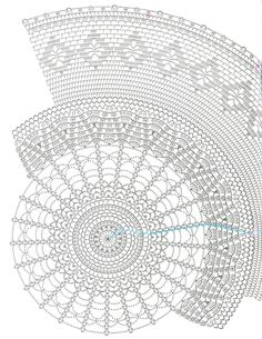 The festive tablecloth (Crochet Knitting Handicraft) Free Crochet Doily Patterns, Crochet Doily Diagram, Crochet Motifs, Crochet Chart, Thread Crochet, Filet Crochet, Crochet Doilies, Crochet Stitches, Knitting Patterns