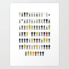 Walter white wardrobe print