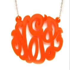 Acrylic Monogram...Bauble Bar...