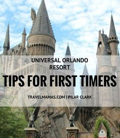 Universal Orlando Resort Tips for First Timers