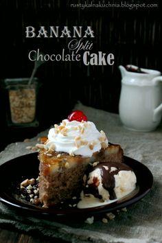 """Chokoladekage """"Banana Split"""""""