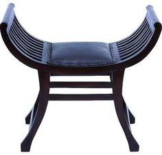 $184 leather folding stool - Google Search