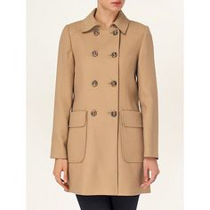 Phase Eight Nieve Patch Pocket Coat, Camel  An unexpected camel entrant.