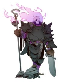 ArtStation - Character Designs - Knight Of The Omen / Mecha Gambler / Synthetic Barb, Brother Baston