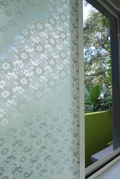 Emma Jeffs frosted glass window film