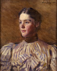 Cecilia Beaux, self-portrait, 1894