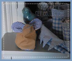 Trousse souris en toile de tente : Trousses par pic-et-clic-et-collectons