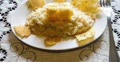 Fabulosa receta para Risotto alla parmigiana. Una receta muy sencilla la que se hace y tan solo media hora y que gusta mucho a nuestros hijos. Arroz estilo risotto con mucho queso y mantequilla. Vamos por la receta.