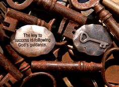 """This week, we've been talking about keys. In particular, """"the keys to the kingdom of heaven"""" from Matthew 16."""