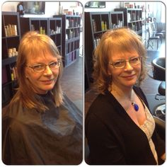 Before and after - nice healthy cut with layers to creat volume and shape - styled by Tara Sebastianis Ice Images, Fire And Ice, Her Style, Layers, Shape, Nice, Healthy, Fashion, Layering