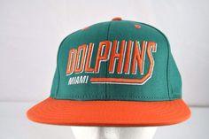 289e7eeaa Miami Dolphins Green Orange Baseball Cap Snapback. Miami DolphinsCaps ...