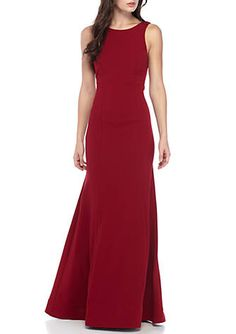 b49f46c3 sequin hearts Open Back with Ruffle Gown. Formal Dresses For WomenElegant  ...