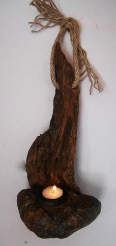 Hey, I found this really awesome Etsy listing at https://www.etsy.com/listing/467077890/rustic-driftwood-candle-holder