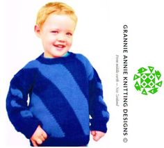 Child's Jumper knitting pattern