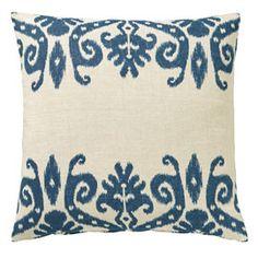 Bordered Lakshmi Cushion Cover
