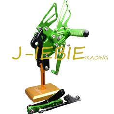 93.37$  Watch here - http://aliguj.shopchina.info/1/go.php?t=32811496988 - CNC Racing Rearset Adjustable Rear Sets Foot pegs Fit For Yamaha FZ09 MT09 2014 2015 2016 GREEN  #bestbuy