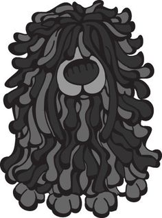 Daily Dog Breed from The DOG Table is the Puli from the Herding Group   http://dailydogbreed.tumblr.com/post/21847920154/daily-dog-breed-from-the-dog-table-is-the-puli